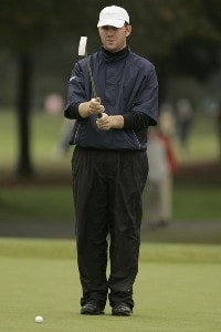 Troy Matteson during the fourth and final round of the Chrysler Classic of Greensboro at Forest Oaks Country Club in Greensboro, North Carolina on October 8, 2006. PGA TOUR - 2006 Chrysler Classic of Greensboro - Final RoundPhoto by Michael Cohen/WireImage.com