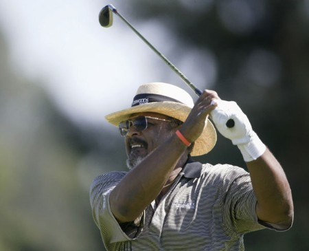 Jim Thorpe during the second round of the 2005 JELD-WEN Tradition at The Reserve Vineyards and Golf Club on Friday,  August 26, 2005.Photo by Allan Campbell/WireImage.com