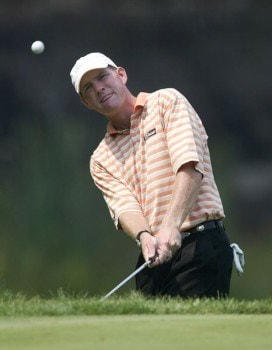 Troy Matteson in action during the second round of the National Mining Association Pete Dye Classic, Pete Dye Golf Club, Bridgeport, WV. Friday, July 8th, 2005.Photo by Hunter Martin/WireImage.com