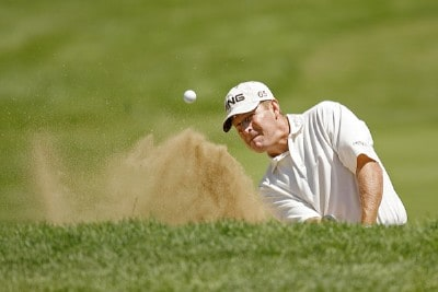 Jeff Maggert during the second round of the US Bank Championship being held at Brown Deer Park in Milwaukee, Wisconsin on July 20, 2007. Photo by Mike Ehrmann/WireImage.com