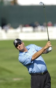 Don Pooley during the second round of the JELD-WEN Tradition at The Reserve Vineyards & Golf Club in Aloha, Oregon on Friday, August 25, 2006.Photo by Steve Levin/WireImage.com