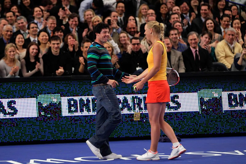 Rory McIlroy and Caroline Wozniacki