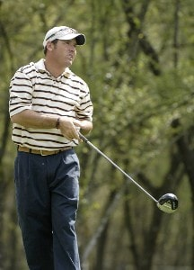 Rich Beem during the second round of the Shell Houston Open at the Redstone Golf Club,Tournament Course, Humble, Texas, on Friday, April 21, 2006Photo by Marc Feldman/WireImage.com