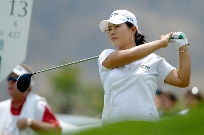 Meena Lee during the second round of the 2006 MasterCard Classic honoring Alejo Peralta at Bosque Real Golf Club in Mexico City, Mexico on March 11, 2006.Photo by Otherimages/WireImage.com