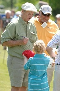 Bill Murray during the 2007 Zurich Classic of New Orleans, Pro-Am, at TPC Lousiana, Avondale, Lousiana on April 18, 2007. Photo by Marc Feldman/WireImage.com