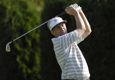Wayne Levi during the second round of the JELD-WEN Tradition at The Reserve Vineyards & Golf Club in Aloha, Oregon on Friday, August 25, 2006.Photo by Steve Levin/WireImage.com