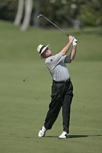 Tom Kite during the first round of the 2007 MasterCard Championship at Hualalai held at Hualalai Golf Club in Ka'upulehu-Kona, Hawaii, on January 19, 2007. Photo by: Chris Condon/PGA TOURPhoto by: Chris Condon/PGA TOUR