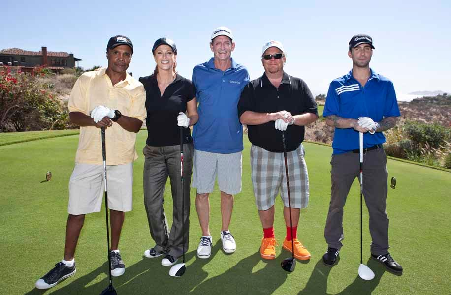 The Haney Project, Hank Haney, Sugar Ray Leonard, Mario Batali, Adam Levine and Angie Everhart
