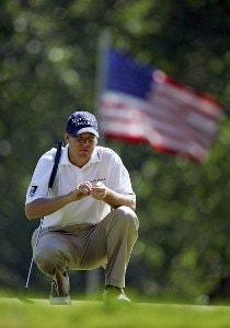 Joe Ogilvie during the first round of the Cialis Western Open on the No. 4 Dubsdread course at Cog Hill Golf and Country Club in Lemont, Illinois on July 6, 2006.Photo by Michael Cohen/WireImage.com