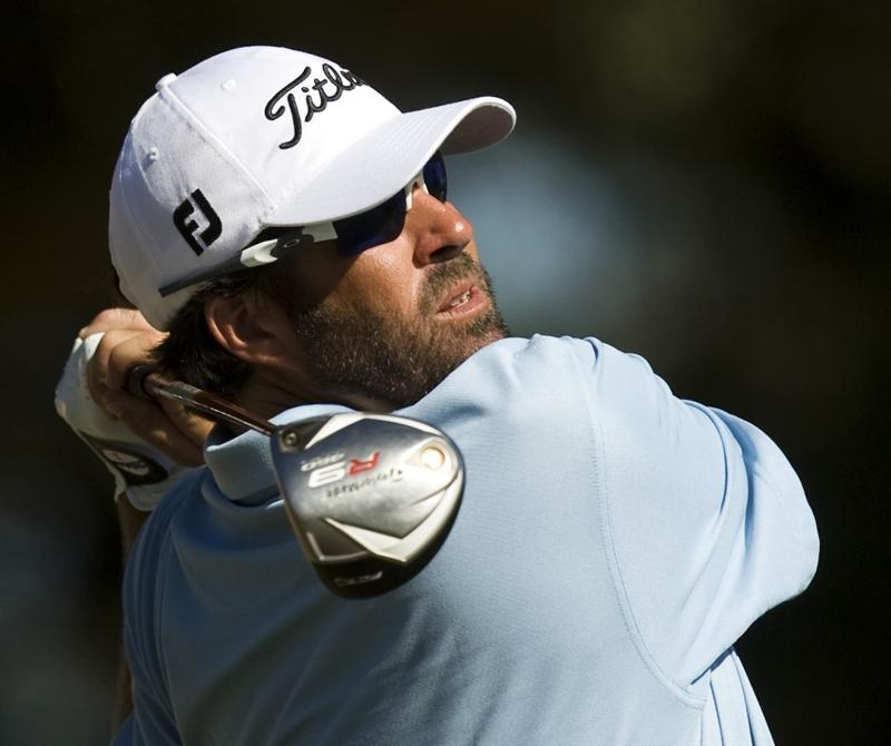 CHARLESTON, SC - OCTOBER 22: Jerod Turner watches his drive on the 16th hole during the first round of the Nationwide Tour Championship at Daniel Island on October 22, 2009 in Charleston, South Carolina. (Photo by Chris Keane/Getty Images)