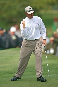 Brett Wetterich during the second round of the 2007 Masters at the Augusta National Golf Club in Augusta,  Georgia, on April 6, 2007. The 2007 Masters - Second RoundPhoto by Mike Ehrmann/WireImage.com