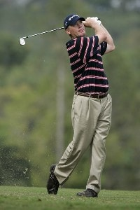 Tripp Isenhour in action during the third round of the Movistar Panama Championship, January 28,2006, held at Club de Golf de Panama, Panama City, Republica De Panama.Photo by: Stan Badz/PGA TOUR
