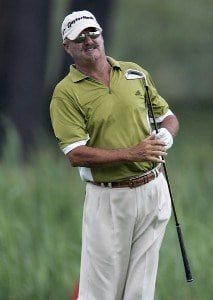 Gary McCord during the second round of the Ford Senior Players Championship held at TPC Michigan in Dearborn, Michigan, on July 14, 2006.Photo by Gregory Shamus/WireImage.com