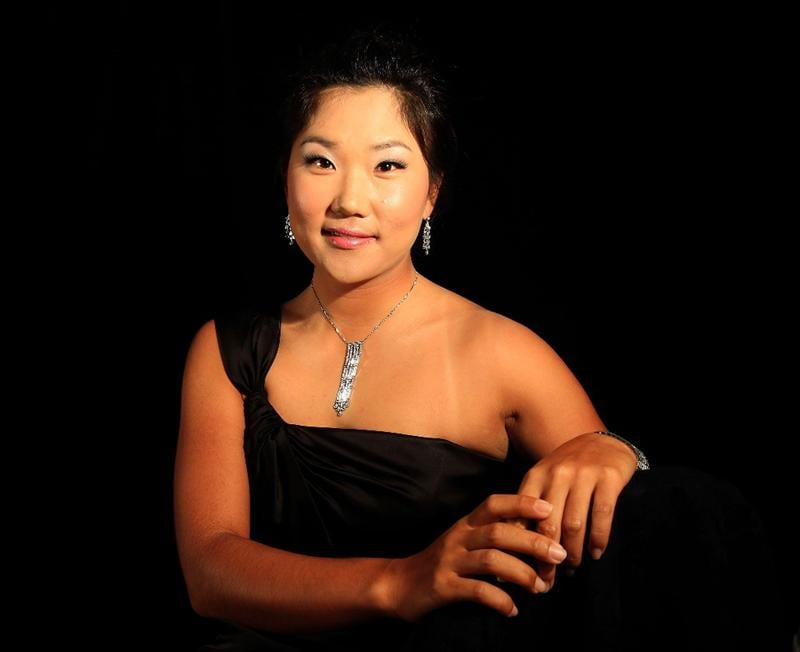 SINGAPORE - MARCH 04:  Seon Hwa Lee of South Korea poses for a portrait during the welcome reception at the Asian Civilisations Museum prior to the start of the HSBC Women's Champions on March 4, 2009 in Singapore  (Photo by Scott Halleran/Getty Images)