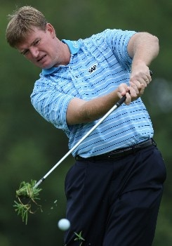 SUN CITY, SOUTH AFRICA - NOVEMBER 28:  Ernie Els of South Africa in action during the pro am event prior to the Nedbank Golf on the Gary Player Course on November 28, 2007 in Sun City, South Africa.  (Photo by Ross Kinnaird/Getty Images)