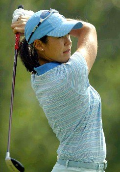 Mexican Marcela Leon during day 1 of the 2005 Abierto Mexicano Master Card Classic held at the Bosque Real Country Club in Mexico City, Mexico on March 4, 2005.