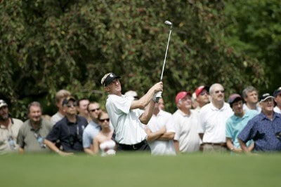 Vaughn Taylor during the first round of the Buick Open at Warwick Hills Golf and Country Club in Grand Blanc, Michigan on August 3, 2006.Photo by Michael Cohen/WireImage.com