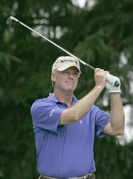 John Harris during second round of the 2005 Commerce Bank Championship at Eisenhower Park in East Meadow, New York on July 2, 2005.Photo by Michael Cohen/WireImage.com