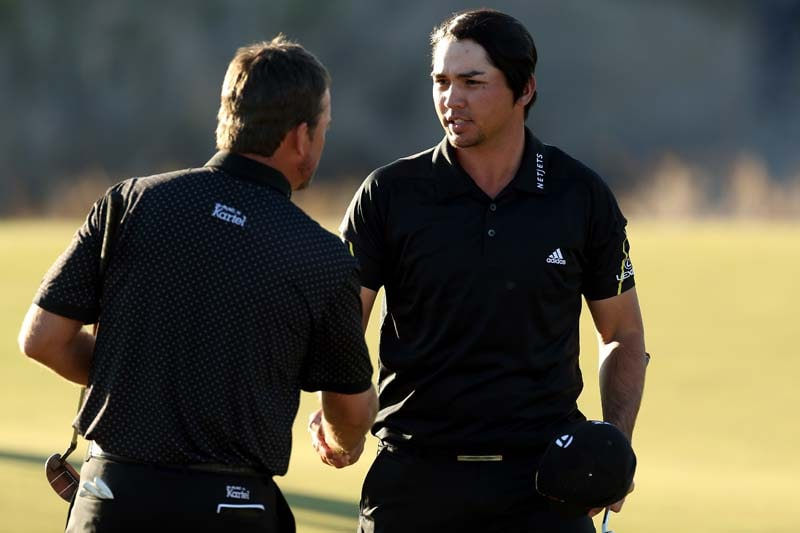 Jason Day and Graeme McDowell