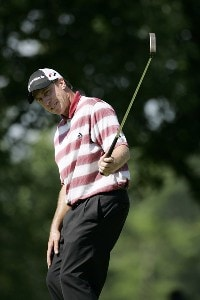 Todd Fischer during the second round of the Buick Open at Warwick Hills Golf and Country Club in Grand Blanc, Michigan on August 4, 2006.Photo by Michael Cohen/WireImage.com