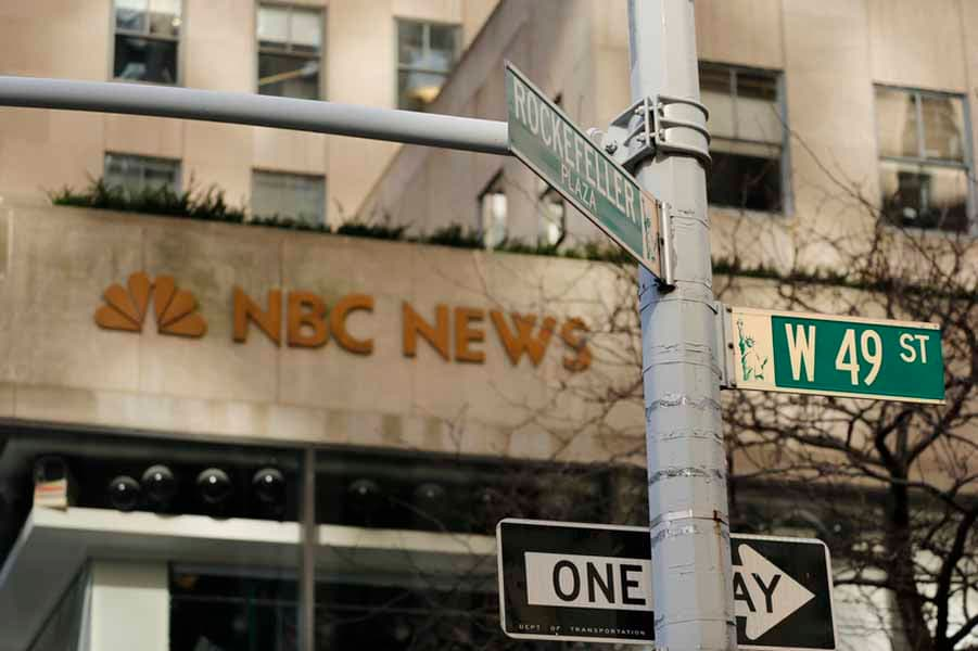 NBC News Building in New York City.