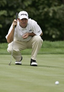 Patrick Sheehan during the second round of the John Deere Classic at TPC at Deere Run in Silvis, Illinois on July 14, 2006.Photo by Michael Cohen/WireImage.com