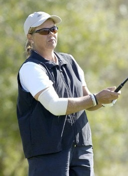 Dawn Coe-Jones on the 2nd tee during the third round of the LPGA Longs Drugs Challenge at the Ridge Golf Club in Auburn, California on Saturday, October 8, 2005Photo by Marc Feldman/WireImage.com