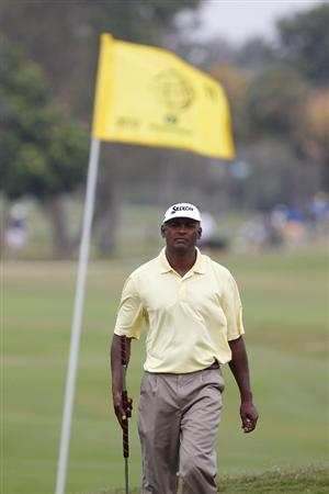 DORAL, FL - MARCH 12:  Vijay Singh of Fiji walk to the 11th hole during round two of the 2010 WGC-CA Championship at the TPC Blue Monster at Doral on March 12, 2010 in Doral, Florida.  (Photo by Scott Halleran/Getty Images)