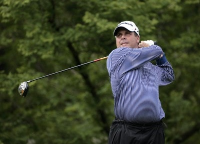 Doug Barron during the first round of the Barclays Classic held at Westchester Country Club in Rye, New York on June 8, 2006.Photo by Chris Condon/PGA TOUR/WireImage.com