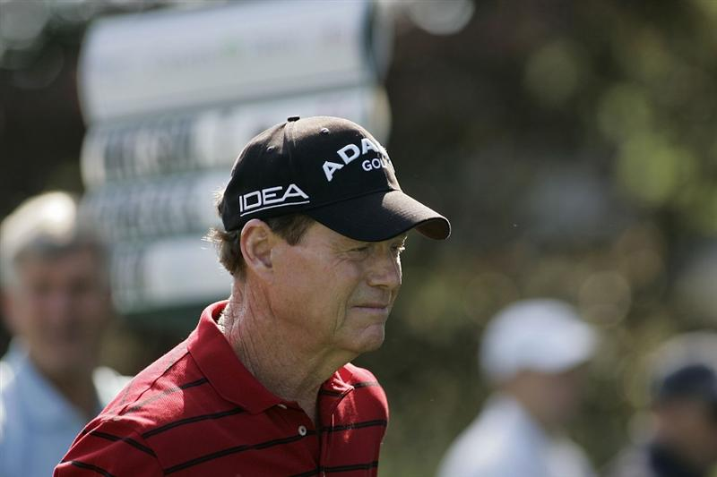 TIMONIUM, MD - OCTOBER 04: Tom Watson during the final round of the Constellation Energy Senior Players Championship at Baltimore Country Club/Five Farms (East Course) held on October 4, 2009 in Timonium, Maryland (Photo by Michael Cohen/Getty Images)