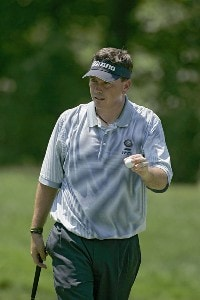 Kris Cox during the third round of the John Deere Classic at TPC at Deere Run in Silvis, Illinois on July 15, 2006.Photo by Michael Cohen/WireImage.com