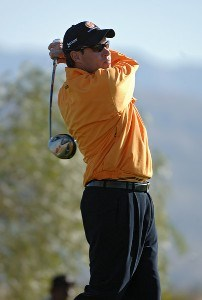 Brian Davis during the second round of the Bob Hope Chrysler Classic at The Classic Club in Palm Desert, California on Thurday, January 18, 2007. PGA TOUR - 2007 Bob Hope Chrysler Classic - Second RoundPhoto by Marc Feldman/WireImage.com