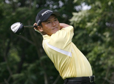 Shigeki Maruyama during the first round of the Buick Championship held at TPC River Highlands in Cromwell, Connecticut, on June 29, 2006.Photo by Jim Rogash/WireImage.com