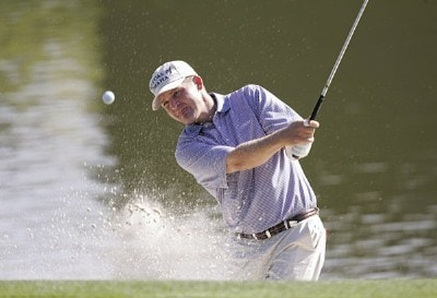 Jason Bohn during a practice round for THE PLAYERS Championship held at the TPC Stadium Course in Ponte Vedra Beach, Florida on Wednesday, March 22, 2006.Photo by Sam Greenwood/WireImage.com