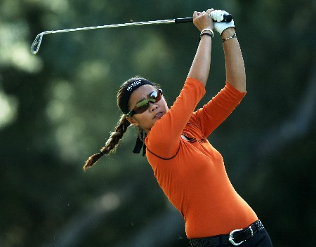 Jennifer Rosales in action during the second round of the 2005 LPGA  Takefuji Classic at the Las Vegas Country Club in Las Vegas, Nevada, April 15, 2005Photo by Steve Grayson/WireImage.com