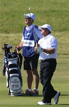 KRAKOW, POLAND - JUNE 01: Ian Woosnam of Wales in action during the final round of the Parkridge Polish Seniors Championship played at the Krakow Golf & Country Club on June 1, 2008 in Krzeszowice, near Krakow, Poland.  (Photo by Phil Inglis/Getty Images)