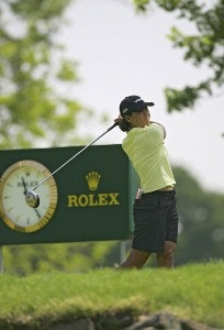 Kim Saiki during the first round of the 2006 Sybase Classic at Wygakyl Country Club in  New Rochelle, New York on May 18, 2006.Photo by Michael Cohen/WireImage.com