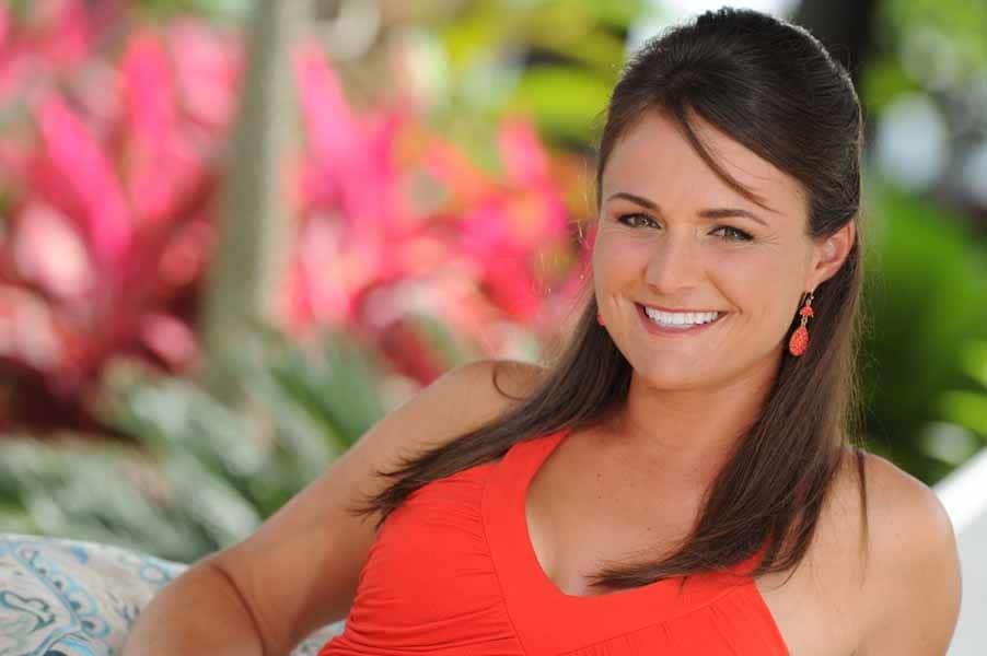 Stefanie Kenoyer Playing on Big Break NFL Puerto Rico