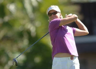 Liselotte Neumann in action during the first round of the LPGA's 2006 Takefuji Classic at the Las Vegas Country Club in Las Vegas, Nevada April 13, 2006Photo by Steve Grayson/WireImage.com