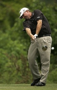 Mark Calcavecchia during the 3rd round of the Zurich Classic played at the TPC of Louisiana in Avondale, LA on April 21, 2007 PGA TOUR - 2007 Zurich Classic of New Orleans - Third RoundPhoto by Mike Ehrmann/WireImage.com