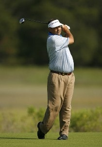 Brad Bryant during the second round of Senior PGA Championship on the Ocean Course at the Kiawah Island Resort on May 25, 2007 in Kiawah Island, South Carolina. 2007 Senior PGA Championship - Second RoundPhoto by Mike Ehrmann/WireImage.com