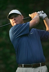 Chad Campbell during the third round of the 2006 Masters at the Augusta National Golf Club in Augusta, Georgia on April 8, 2006.Photo by Sam Greenwood/WireImage.com