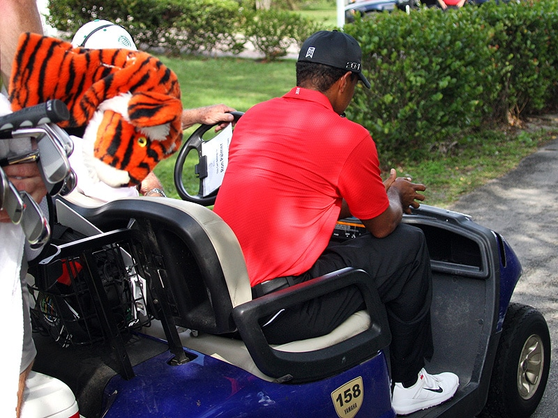 Tiger Woods WDs from Doral