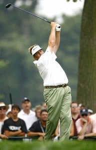 Tim Herron during the third round of the 88th PGA Championship at Medinah Country Club in Medinah, Illinois, on August 19, 2006.Photo by Mike Ehrmann/WireImage.com