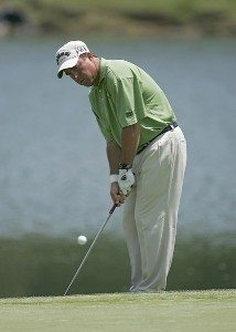 Olin Browne during the first round the 2006 Wachovia Championship at the Quail Hollow Club in Charlotte, North Carolina on May 4, 2006. Photo by Chris Condon/PGA TOURPhoto by Chris Condon/PGA TOUR