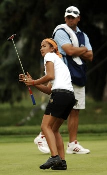 Jennifer Rosales in action during the second round of the 2005 U.S. Women's Open at Cherry Hills Country Club in Englewood, Colorado, June 24, 2005.Photo by Steve Grayson/WireImage.com
