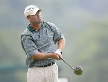 Ryan Armour in action during the first round of the 2005 National Mining Association's Pete Dye Classic at Pete Dye Golf Club in Bridgeport, West Virginia on Thursday, July 7, 2005.Photo by Hunter Martin/WireImage.com