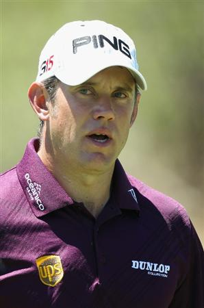 SUN CITY, SOUTH AFRICA - DECEMBER 04:  A portrait of Lee Westwood of England during the third round of the 2010 Nedbank Golf Challenge at the Gary Player Country Club Course  on December 4, 2010 in Sun City, South Africa.  (Photo by Warren Little/Getty Images)
