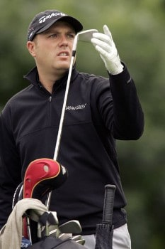 Graeme Storm during the third round of the 2005 Smurfit European Open on the Palmer Course at the K Club. July 2, 2005Photo by Pete Fontaine/WireImage.com