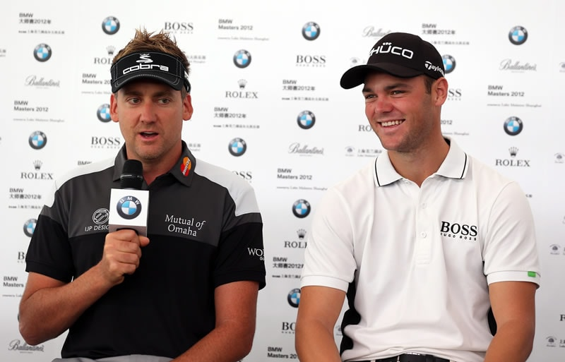 Ian Poulter and Martin Kaymer
